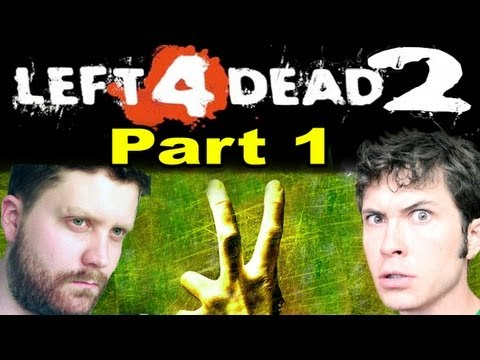 Left 4 Dead 2 - Toby &amp; Nathan Suck at Gaming - Part 1