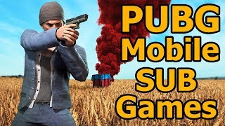 PUBG Mobile Live Stream Gameplay Sub Games