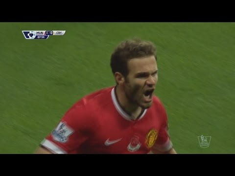 Juan Mata vs Crystal Palace (Home) ● Individual Highlights (08.11.2014) HD