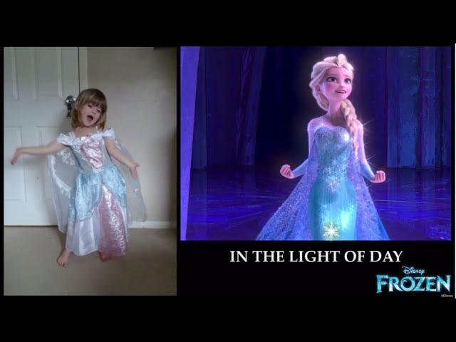 ☆ DISNEY JUNIOR FANS SING FROZEN'S LET IT GO! ☆