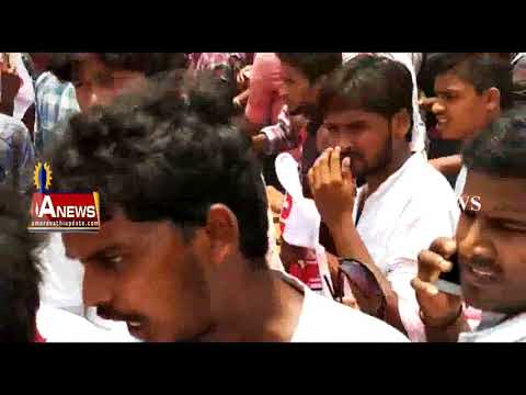Pawan Kalyan Fans Protest for Pawan Kalyan || Comments against Janasena in Palasa || ANews