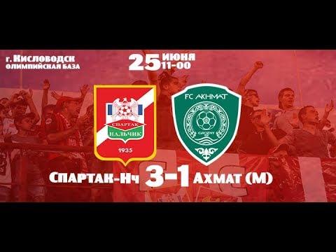 Спартак-Нальчик - Ахмат-М 3-1 | Обзор |
