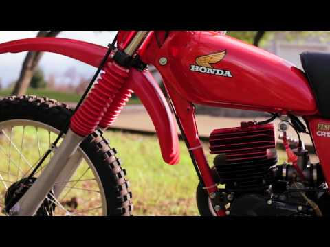 Honda 1977 CR 125 Elsinore Vintage AHRMA for sale