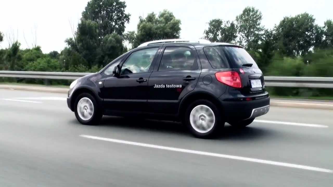 Fiat Sedici 1 6 4wd Amp Suzuki Sx4 1 6 4wd Test Blog Pgd