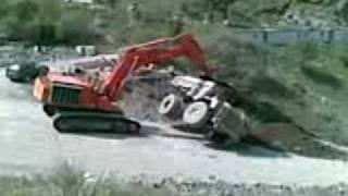 Accidente Dumper 773