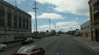 De anbulando por las calles de Stockton, California
