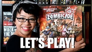 Let's Play Zombicide With Nathan of Jaded Gamercast! (Raw & Uncut!)