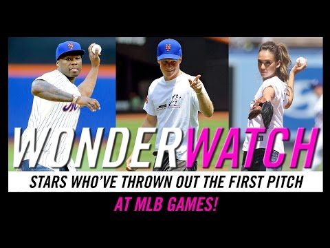 Stars Throwing Out the First Pitch -- Wonderwatch for Sep. 23, 2014