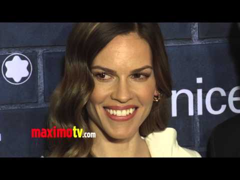 "Hilary Swank Montblanc ""Signature for Good 2013"" Launch Pre-Oscar Brunch ARRIVALS"