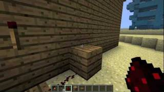 Minecraft - How to make Trapdoor Stairs+Minecraft TV with AntVenom :3