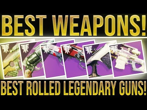 Destiny 2 Forsaken. TOP 5! (My Best Rolled Weapons, How To Get Them & The Supremacy Is Back! thumbnail