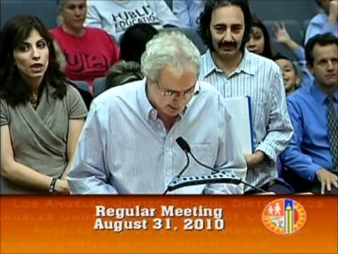 Unfair Hiring at DACE Adult Education at LAUSD Board Mtg
