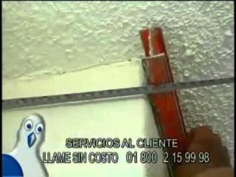 Instalacion de molduras de unicel poliestireno para for Decoracion de interiores y exteriores