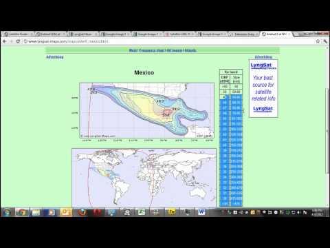 Tutorial 2/3 Tecnologiatv.com ¿Cómo bajar señales de TV satelital desde Amer. Central vía plato?