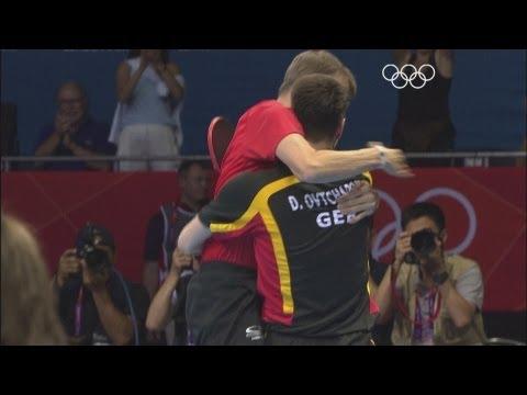 Dimitrij Ovtcharov Wins Table Tennis Bronze v Chuang - London 2012 Olympics