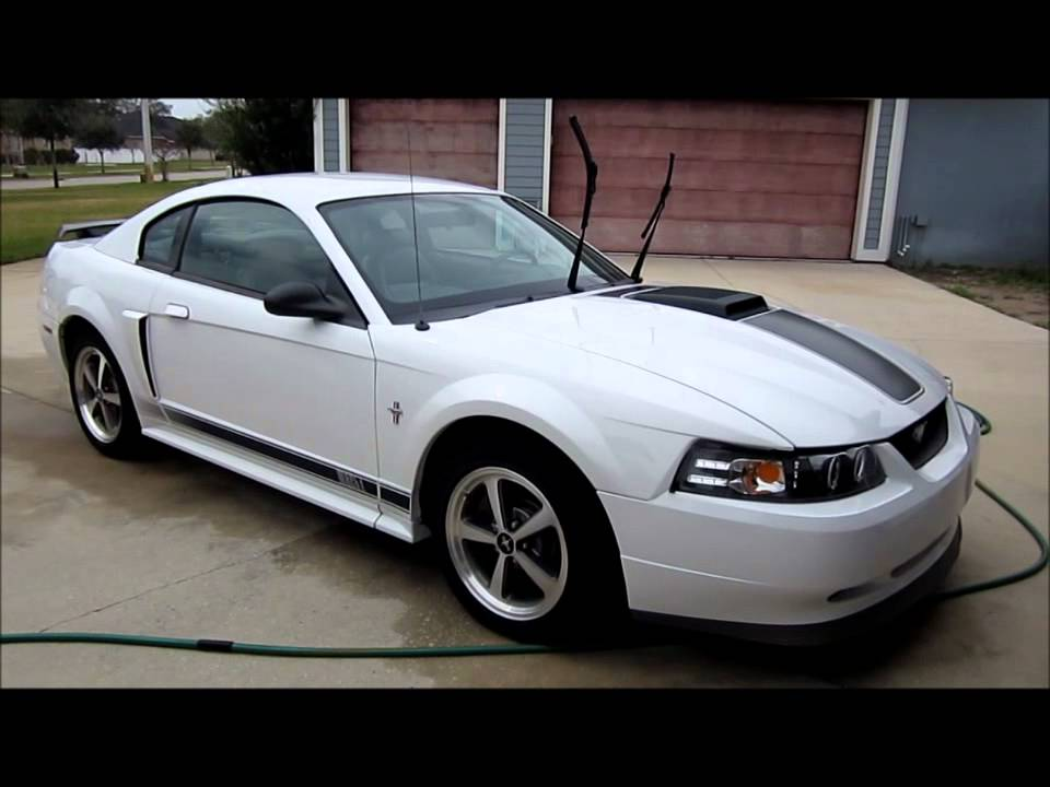 2003 White Mustang Mach1 Prep For Sale Detail Gt Garry