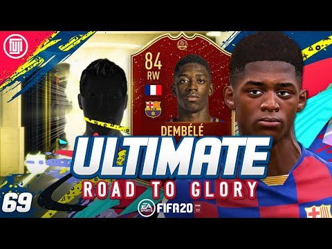 INSANE LUCK!!! ULTIMATE RTG #69 - FIFA 20 Ultimate Team Road to Glory