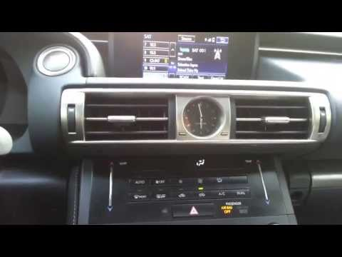 2014 Lexus IS F-Sport (IS250) Interior - First-Person View - The Driver