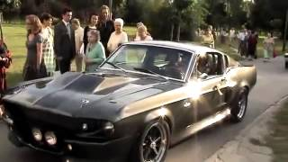 Ford Mustang GT500 Eleanor 1967 Wedding