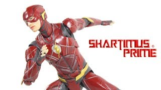 SH Figuarts Flash Justice League Movie Bandai Tamashii Nations Import Action Figure Toy Review