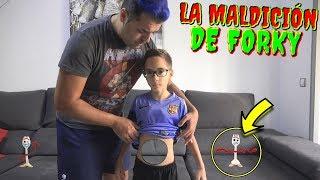 EL JUGUETE FORKY de TOY STORY 4 Maldice a mi FAMILIA