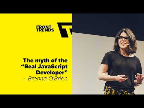 Watch The myth of the Real JavaScript Developerr