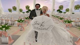 Cammera & Kimmie Second Life Wedding - 10.21.17