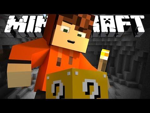 ПЕЩЕРА С ЛАКИ БЛОКАМИ! [Minecraft The Luckiest Block]