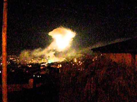 Fogo de Artificio S�o Mamede Valongo 2013.