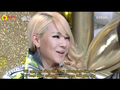[Vietsub][21Team] 2NE1 - Interview @ SBS Inkigayo 110528.mkv