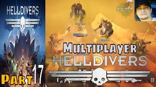 Helldivers Part 17 Multiplayer Walkthrough Gameplay Lets Play