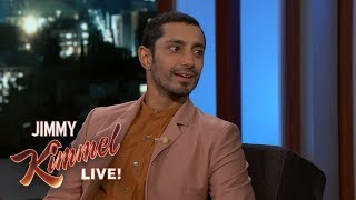Riz Ahmed on Venom & Tom Hardy