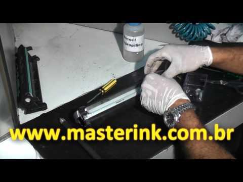 Video lección - Como Recargar un Tóner HP 7553A y HP 5949A - Parte 2/2