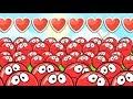 КРАСНЫЙ ШАРИК 4 ЗОМБИ ПОДЗЕМНЫЕ ХОДЫ мультик игра для детей RED BALL 4 Volume 5 INTO THE CAVE mp3