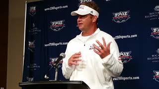FAU vs. Navy Press Conference: Coach Lane Kiffin