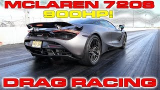 900HP McLaren 720S sets new 1/4 Mile Drag Racing Record for quickest McLaren