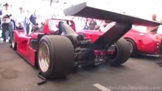 Ferrari 333 SP Racecar startup!