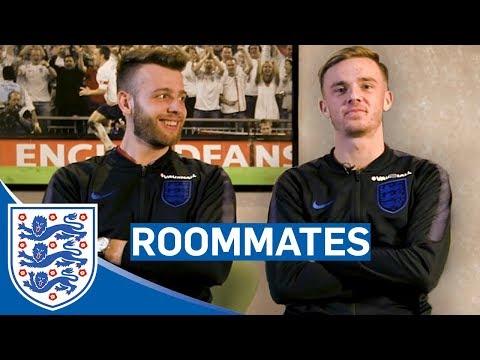 """I Think He's a Messi Guy!"" | James Maddison vs Angus Gunn | Roommates"