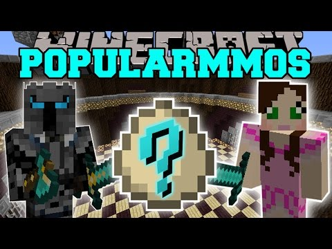 Minecraft: POPULARMMOS MOD (TREE OF EPIC PROPORTIONS, GAMINGWITHJEN, & LUCKY EGGS) Mod Showcase