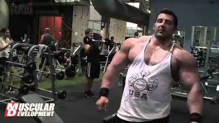 Brian Yersky 2011 Bodybuilding Offseason Arm Training