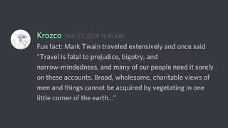 Fun Facts With Discord #25
