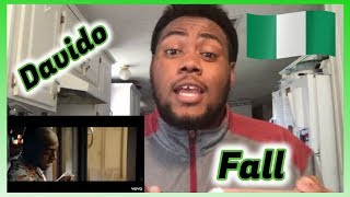 Davido - Fall (Reaction) (Official Video)