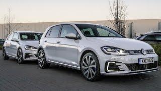 2018 VW GOLF GTi vs Golf GTE - Test Drive & Top Trumps