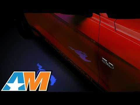 2013-2017 Mustang Side View Mirror Puddle Lamp Lens Tint Review & Install