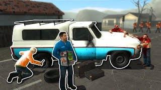 ZOMBIE SURVIVAL MISSION! - Garry's Mod Gameplay - Gmod Sandbox Zombie Survival