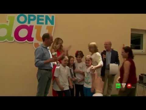 Open Day 2014 – Ospedale Pediatrico Bambino Gesù – Lorella Cuccarini visita i reparti – www.HTO.tv