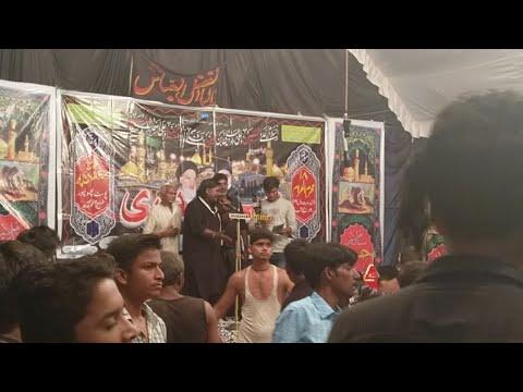 """Live """"Shabbedari"""" Bahauddinpur Nohakhani 18 Moharram"""