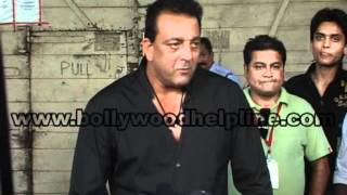 Department - Sanjay Dutt At On The Set Of Extra Inning T20 For Film 'Department'