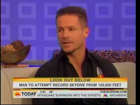 Felix Baumgartner on Today Show 1.22.10