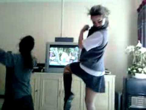 Girls Crazy Dancing In School Uniform - Insanely Funny !! video
